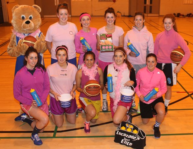 Tralee Imperials players launching ' Paint it Pink'. Photo by Gavin O'Connor.