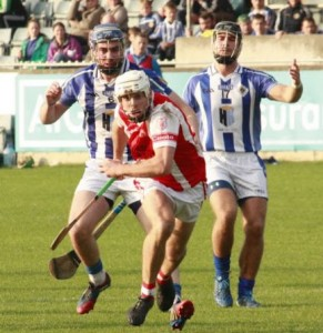 Darragh O'Connell in action for Cuala in the Dublin Senior Hurling Championship Semi-Final against Ballyboden St Enda's. Photo by Colin Behan.