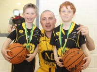 At the 'The Kieran Donaghy Be A Star Basketball Camp' were, from left: Eoin O'Connor and David Healy. Photo by Gavin O'Connor.