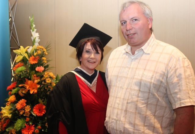 Caroline Danaher and Micheal Lynch (Culinary Arts) at the ITT graduation ceremony at the Brandon Hotel on Thursday. Photo by Gavin O'Connor