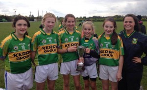 Kerins O'Rahillys U12 girls who were part of the victorious North and West Kerry side on Saturday last in Co Clare