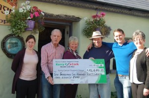 Kerry Cancer Support Cheque