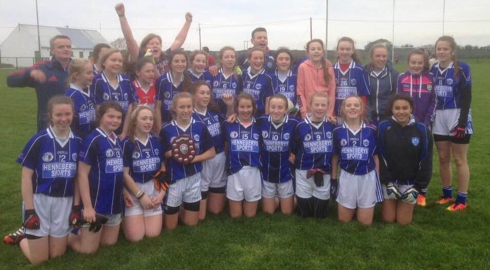 Kerins O'Rahillys U14 girls who won the Division 3 North Kerry Final on Sunday last