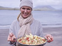 Rachel Goes West For Her 'Coastal Cooking'