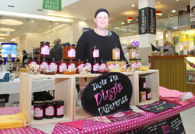Michelle O'Sullivan of Blúiríní Blasta at the Taste Of Tralee event in Manor West on Saturday. Photo by Dermot Crean