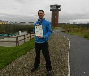 From Tralee Bay Wetlands Centre, Dr David McCormick, with the Green Hospitality Award.