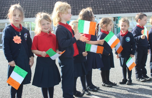 Junior pupils in Listellick. Photo by Gavin O'Connor.