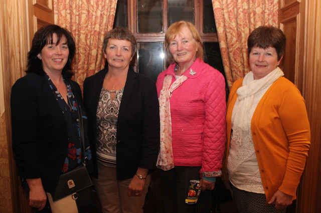 At the Tralee Parnells Mark Doe cookery demonstration in the Meadowlands were, from left: Joan Naughton, Lil Hanifin, Josephine Casey and Joan O'Callaghan. Photo by Gavin O'Connor.