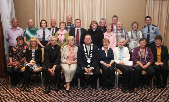 A selection of 'Best Estate' winners at the Tidy Tralee Awards. Photo by Gavin O'Connor.