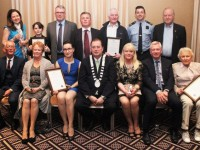 A selection of 'Best Buisness' winners at the Tidy Tralee Awards. Photo by Gavin O'Connor.