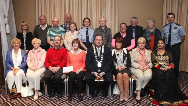 A selection of 'Best Garden' winners at the Tidy Tralee Awards. Photo by Gavin O'Connor.