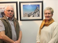 At the Ardfert Camera Club annual exhibition were, from left: Noel Duffy and Adrienne McLoughlin Mcloughlin. Photo by Gavin O'Connor.