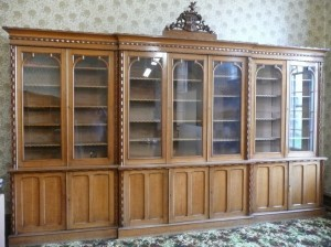 A Balloonagh Convent book case worth in the region of €5000 an €7000 up for auction.