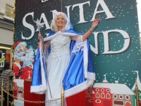 The Snow Princess at the CH Chemists' Santa Parade on Saturday. Photo by Dermot Crean