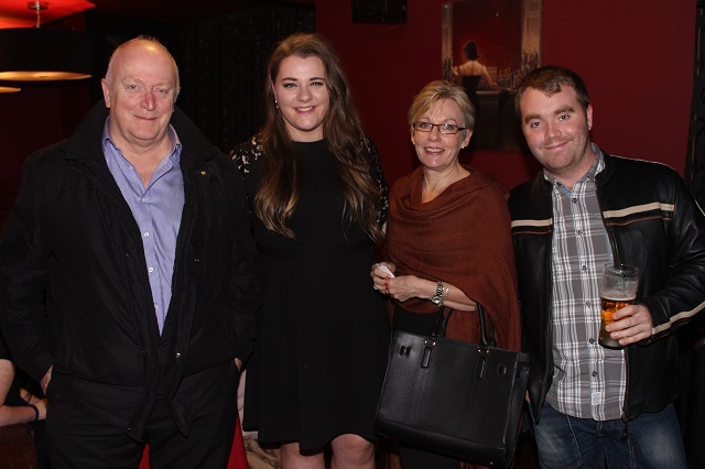 At the Casino Night on in Benners Hotel were, from left. Mick Green, Ciara Cusack, Tess Green and Diarmuid Casey. Photo by Gavin O'Connor.