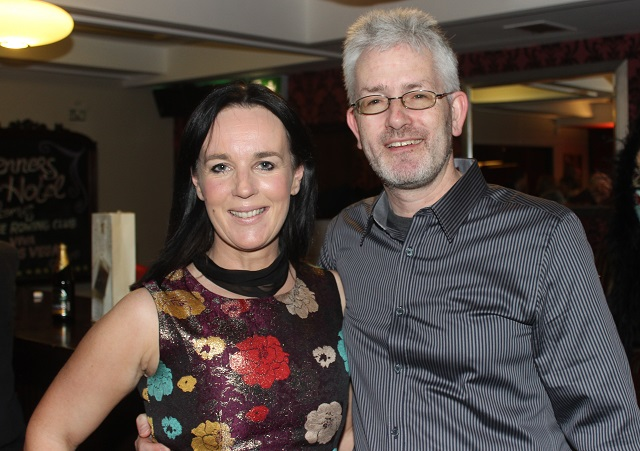 At the Casino Night on in Benners Hotel were, from left. Anne and Mike McGillycuddy. Photo by Gavin O'Connor.