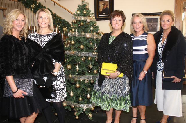 Fiona Gaudino, Claire Molloy, Margaret Bell Trish Moran and Melissa Nix at the Connect Publications Ladies Lunch and Fashion Afternoon in aid of MS Tralee /West Kerry Branch at the Ballyroe Heights Hotel. Photo by Dermot Crean