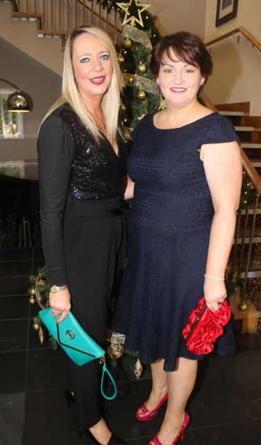 Trina Bowler and Marie Maher at the Connect Publications Ladies Lunch and Fashion Afternoon in aid of MS Tralee /West Kerry Branch at the Ballyroe Heights Hotel. Photo by Dermot Crean