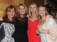 At the Tralee Golf Club annual social in the Ballyroe Hotel were, from left. Catherine McCarthy, Mary Murphy, Ashling O'Riordan and Louise Moran. Photo by Gavin O'Connor.