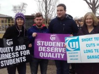 ITT Lecturers And Students Hold Protest Over Concerns