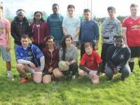 Colaiste Glann Li, students at Kerry ETB Taig Rugby. Photo by Gavin O'Connor.