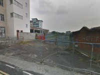The site of the proposed new Lidl store on Edward St.