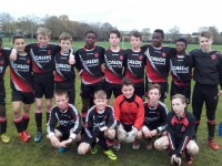 Park Fc U14 before their 9-1 Win against Shelbourne Fc in Limerick on Saturday in the SFAI Nationl Cup