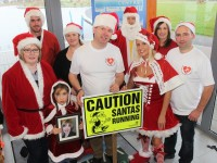 At the launch of the '5K Santa Fun Run' were, from left, front row: Deirdre Moore, Sophie Quillinan, Martin Moore, Marilyn O'Shea and David Hughes. Back: Colin Aherne, Aoife Moynihan, Danny O'Shea and Mags Quillinan. Photo by Gavin O'Connor.