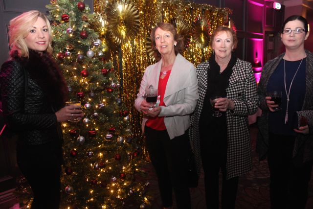 Catriona Walsh, Catherine Walsh, Gretta Ryall and Claire Walsh at the Shaws Fashion Show in aid of the Recovery Haven on Thursday night. Photo by Dermot Crean