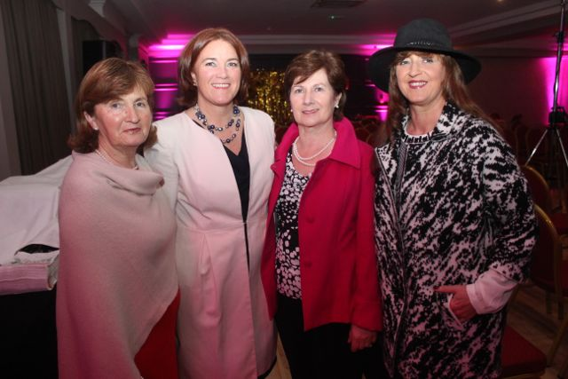Irene O'Donnell, Grace O'Donnell, Betty Kelly and Maria Guthrie at the Shaws Fashion Show in aid of the Recovery Haven on Thursday night. Photo by Dermot Crean