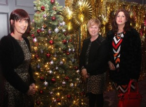 Joanne Tangney, Catherine Murphy, Annette Kerin, Scartaglin, at the Shaws Fashion Show in aid of the Recovery Haven on Thursday night. Photo by Dermot Crean