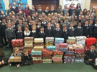 Fenit School Pupils Show Kindness For Needy Children At Christmas