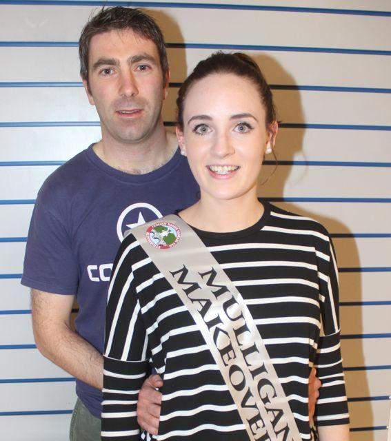 Anton O'Callaghan and Ruth Mulligan.