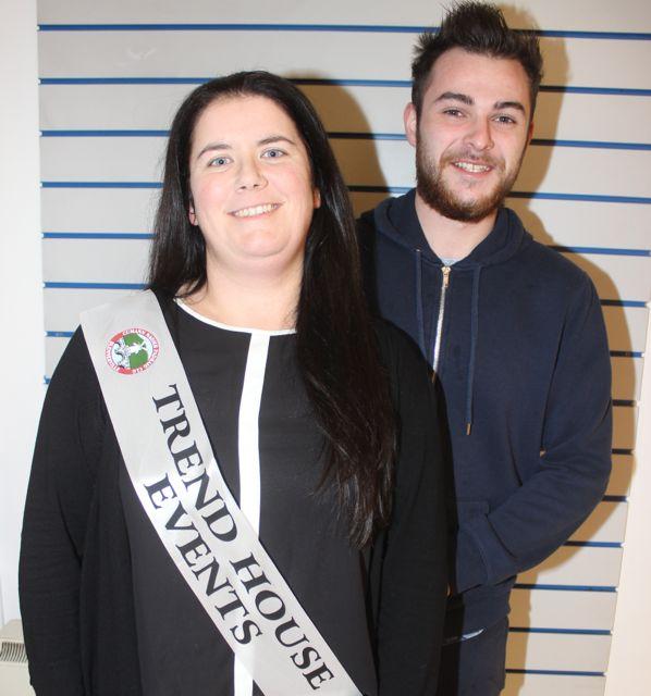 Rachel O'Donoghue and Cathal Flaherty.