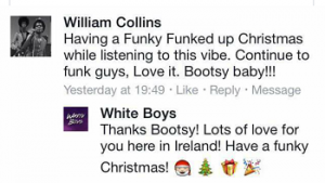 Bootsy Collins Comment