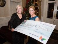 DKANE 27/11/2015 REPRO FREE Sandra Daly, CEO Mercy University Hospital and Brenda Doody at the inaugural Mercy Christmas Wishes Cancer Ball on Friday, 27th November at Maryborough Hotel & Spa, Cork, in aid of the new Mercy Cancer CARE Centre. PIC DARRAGH KANE
