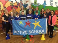 Well-Deserved Active Schools Flag Raised At CBS Primary