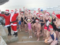 Santa Launches Annual Christmas Swim In Fenit
