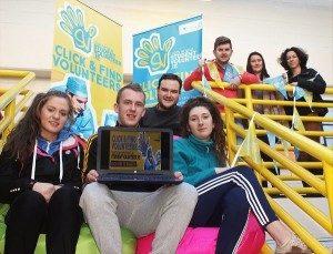 Launching Institute of Technology Tralee Studentvolunteer.ie were, from left, front: Rachel Lacey, Stephen Kelly, Ben Slim, Katrina Griffin. Back: Steve Clifford, Alice Chambers and Adele Randles. Photo by Gavin O'Connor.