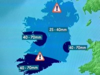 Now There's A Status Orange Rainfall Warning For Kerry