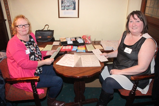 At the Na Geail Bingo were, from left. Mary Sheehy and Jacqui Carlos. Photo by Gavin O'Connor.
