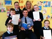 PHOTOS: Kerry Star Helps O'Brennan Pupils Launch New Book