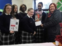 Pres Girls Show Their Products At Christmas Trade Fair