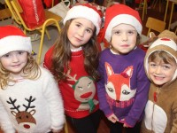 Pupils taking part in the Scoil Eoin Balloonagh Christmas Concert were, from left: Saoirse McCarthy, Sophie Quillinan, Holly Foran, Elliot Calleja. Photo by Gavin O'Connor.
