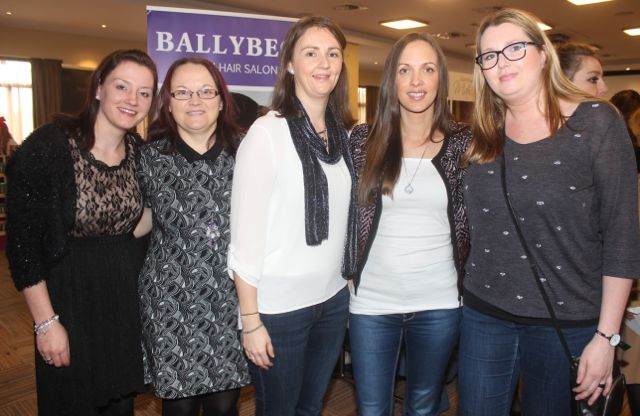 Lisa Casey, Julia O'Halloran, Lorraine Nolan, Tara O'Halloran and Anna Milinska at the 'Recover Your Sparkle' event in the Fels Point Hotel on Sunday afternoon. Photo by Dermot Crean