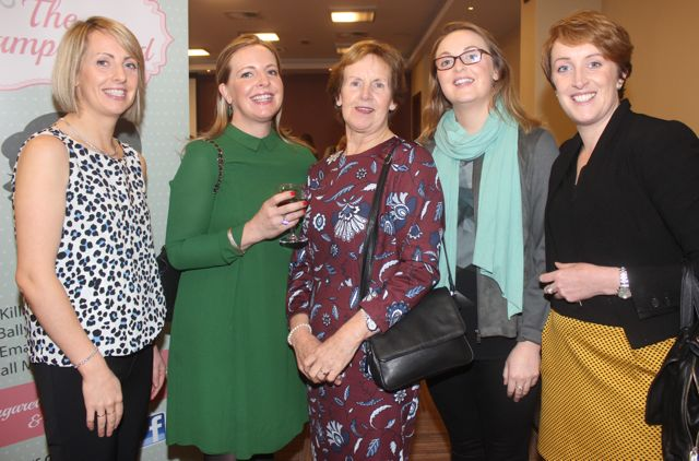 Mary, Carol, Margaret, Olive and Elaine Brick at the 'Recover Your Sparkle' event in the Fels Point Hotel on Sunday afternoon. Photo by Dermot Crean