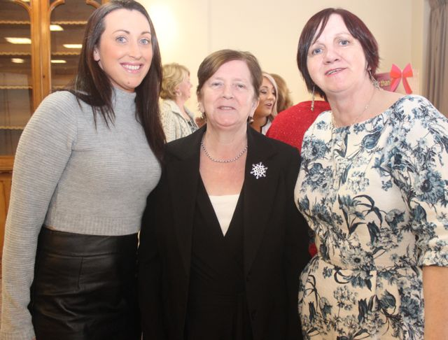 Catherine Lawlor, Kathleen Lawlor and Patricia Duggan and at the 'Recover Your Sparkle' event in the Fels Point Hotel on Sunday afternoon. Photo by Dermot Crean