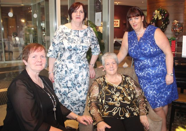 Mary Lawlor, Patricia Duggan, Peggy and Helen Geary at the 'Recover Your Sparkle' event in the Fels Point Hotel on Sunday afternoon. Photo by Dermot Crean