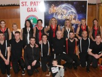 The contestants in the St Pats GAA Club Strictly Come Dancing event in the Ballyroe Heights Hotel on Friday night. Photo by Dermot Crean
