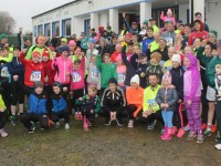Participants gather at the start of the Tralee RFC fun run on St Stephen's Day. Photo by Dermot Crean